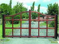 A Uttoxeter style gate with all steel infills.